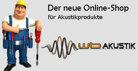 WB Akustik Online Shop
