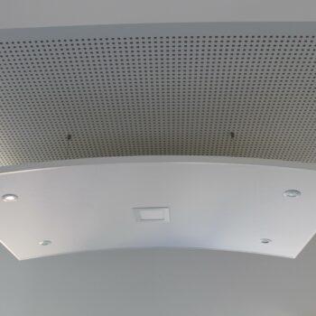 Deckensegel mit LED Beleuchtung