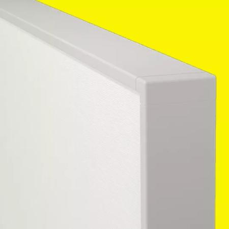 akusto wall c weisser rahmen
