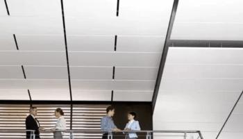 akustikdecke treppenhaus