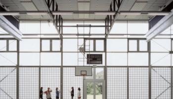 akustikdecke sporthalle