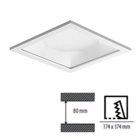 LED Deckenspot für Deckensegel und Akustikdecken