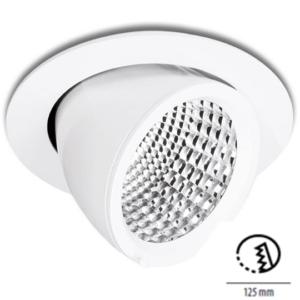 LED Einbaustrahler für Deckensegel und Akustikdecken