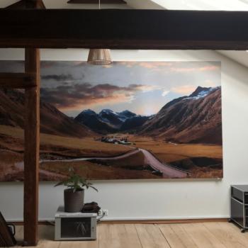 Individuelle Akustikelemente für die Wand, mit eigenem Motiv bedruckt