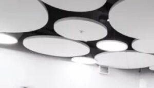 Akustik Deckensegel rund: Solo Circle