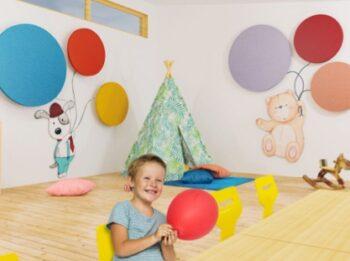 Kinderarzt-Akustikelemente