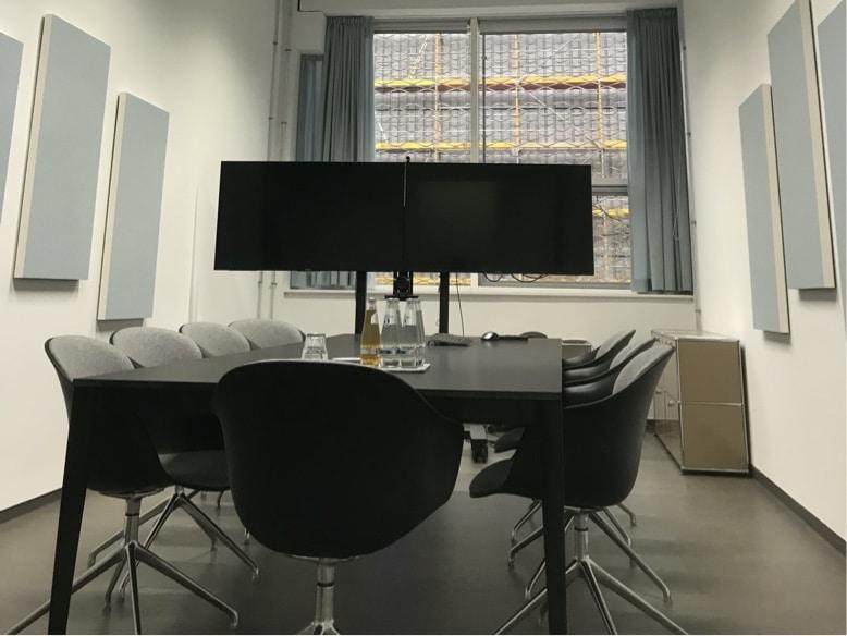 Individuelle Wandabsorber für Meetingräume