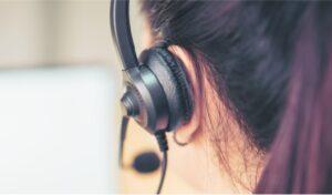 Callcenter Einrichtung mit Schallschutz